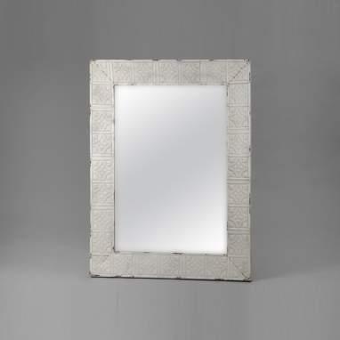 Saik miroir mosaïque métal 105x 135