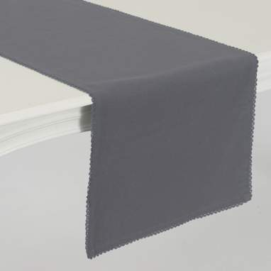Tuche anthracite table runner