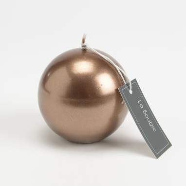 Sepa copper sphere candle