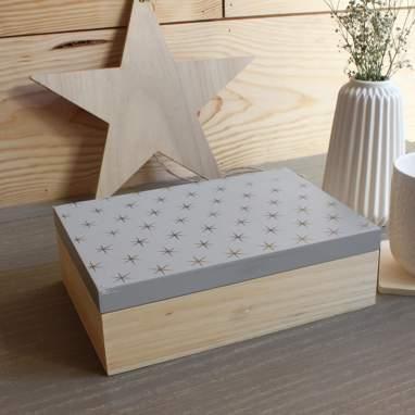 Pahe scatola di tè stelle