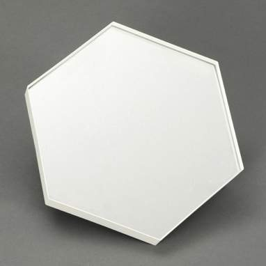 Exol espelho hexagonal