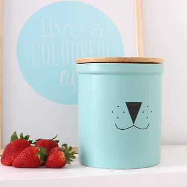 Lyon green water container with lid