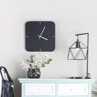 Kuar reloj negro cuadrado