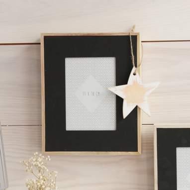 Duvi black frame 13x18cm