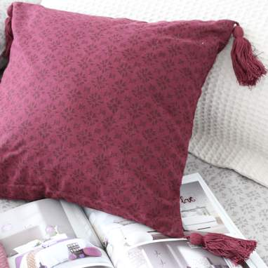 Hohe coussin style cirue 40x40