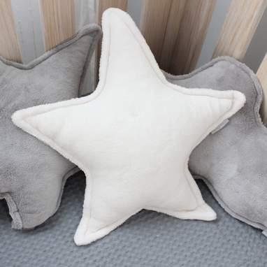 Diret cojin estrella blanco