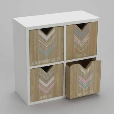 Frel armoire tes 4 tiroirs