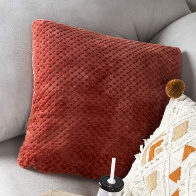 Atej red cushion 40x40