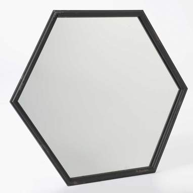 Luil hexagonal mirror