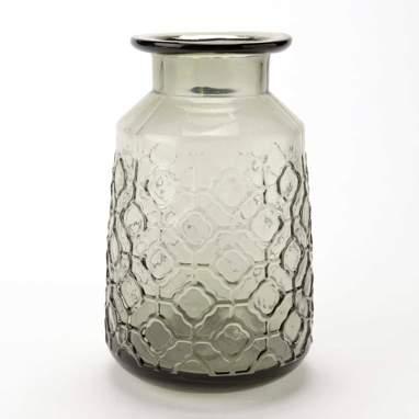 Haar jarra cinza vidro h21