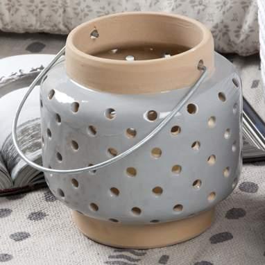 Bidel lanterninha cinza