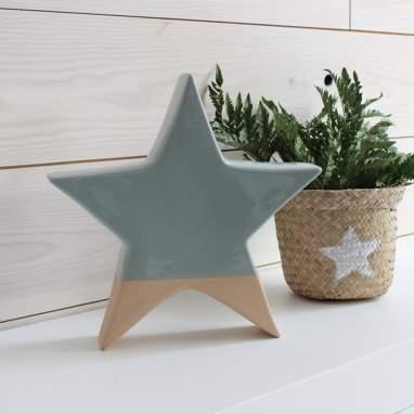 Pylr figura stella grande azzurra