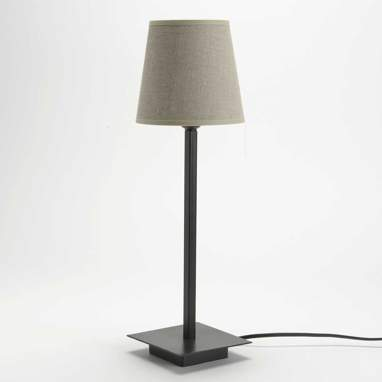 Nannu lampe de table lin beige