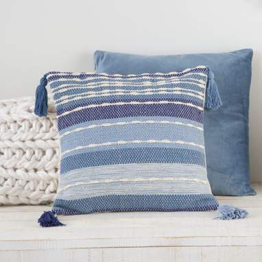Eber blue cushion 40x40
