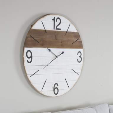 Nakk reloj madera blanco/ natural