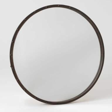 Poik espelho metal roda 90cm