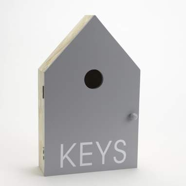 Poew grey keys box