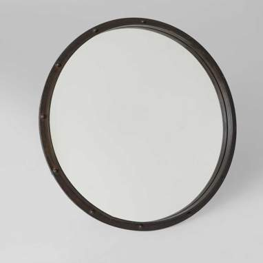 Girs wheel metal mirror