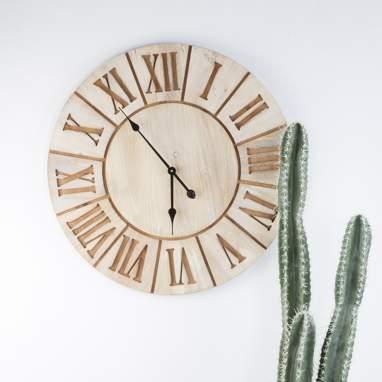 Dicu wood clock d70cm