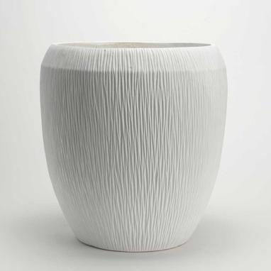 Klio cache-pot blanc
