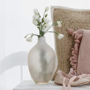 Silo vase naturel 26cm