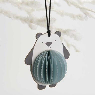 Kore oso suspendido azul