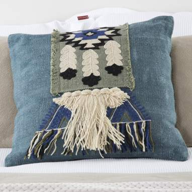 Tilo fringe cushion 50x50