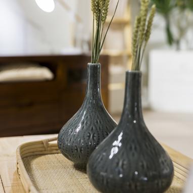 Fore jarron ceramica