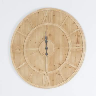 Jiol wooden clock d100cm