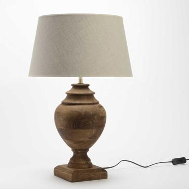 Xumi wood table lamp
