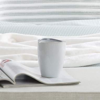Rim white grey mug