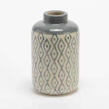 Xavy grey little vase