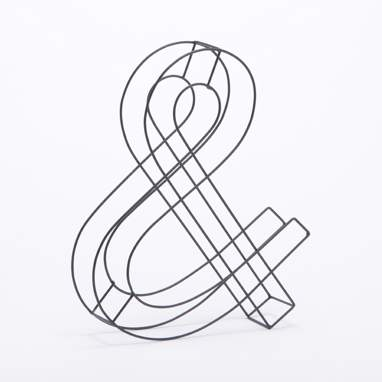 Jister lettera metallo