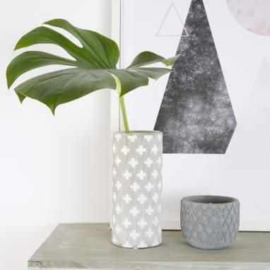 Ster vase tube cruz 23 cm