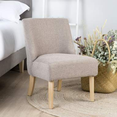 Gret fauteuil taupe dag