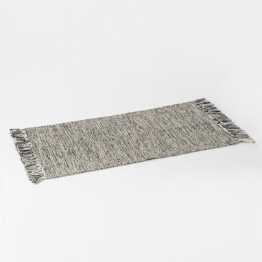 Topu grey chenille rug