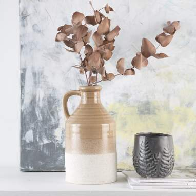Quer vase h26
