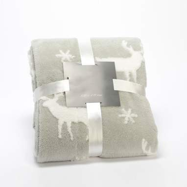 Wick star deer blanket