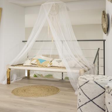 Deby bandeja de cama natural