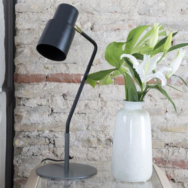 Fers grey table lamp
