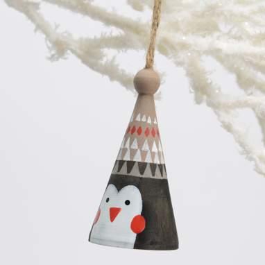 Teon hanging penguin