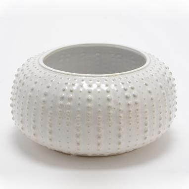 Tory vaso/floreira branco