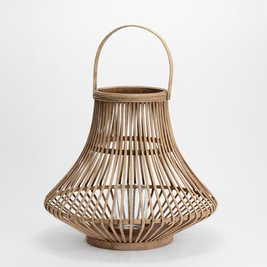 Dam natural lantern candleholder