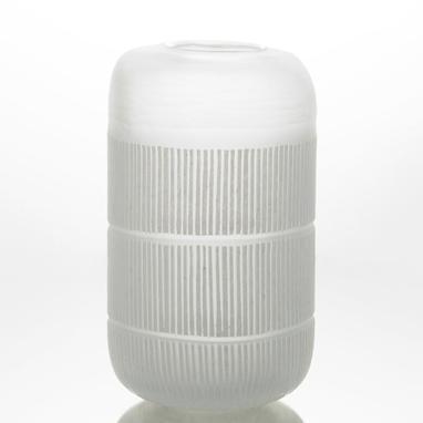 Alc jarron  h31 blanco
