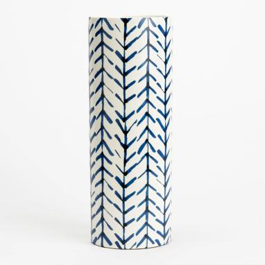 Jali vaso linee azzurrre