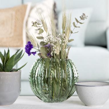 Zes vaso cactus palla cristallo