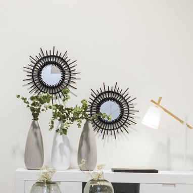 Helio miroir soleil noir