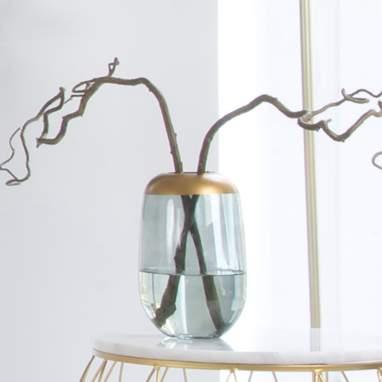 Beyol blue vase