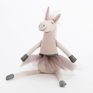 Val unicornio de trapo