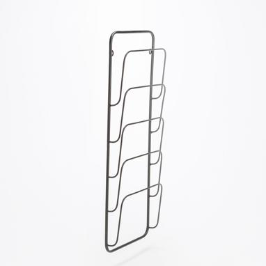 Glet vertical magazine rack